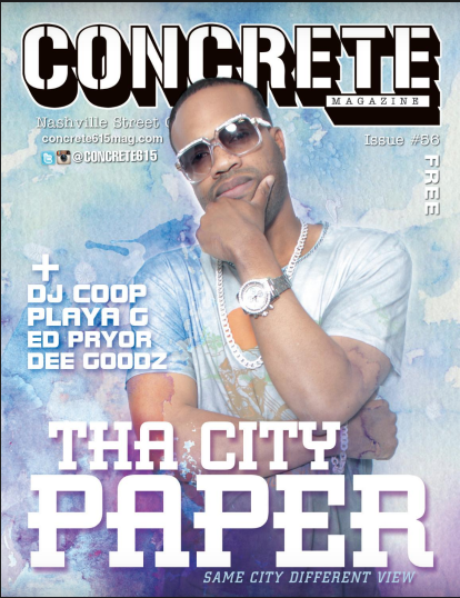 Tha City Paper Concrete Magazine