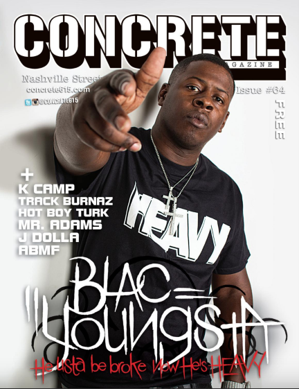 Blac Youngsta Concrete Magazine