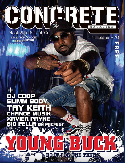 Young Buck Concrete Magazine