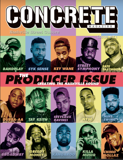 Producer issue Concrete Magazine